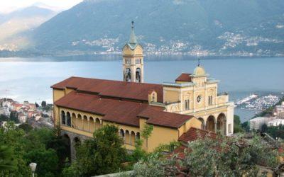 Madonna del Sasso, een prachtig gelegen klooster