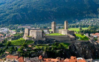 Bellinzona, stad van kastelen
