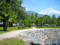 Campings bij Locarno aan het Lago Maggiore