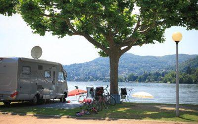 Kamperen aan het Lago Maggiore