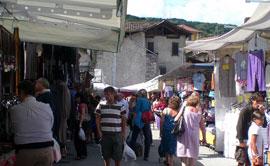 Markten bij Lago Maggiore op vrijdag