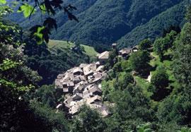 De wilde en eenzame Veddasca vallei