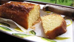 Isola Pescatori Lemon Cake
