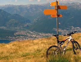 Fietsen rond Lago Maggiore