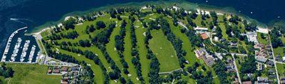 Golfen bij het Lago Maggiore
