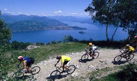 Mountainbiken bij het Lago Maggiore