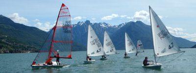 Zeilen, een van de meest populaire watersporten op Lago Maggiore