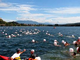 De Traversata: een gezellige zwemwedstrijd
