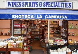 Enoteca La Cambusa – wijnwinkel in Stresa