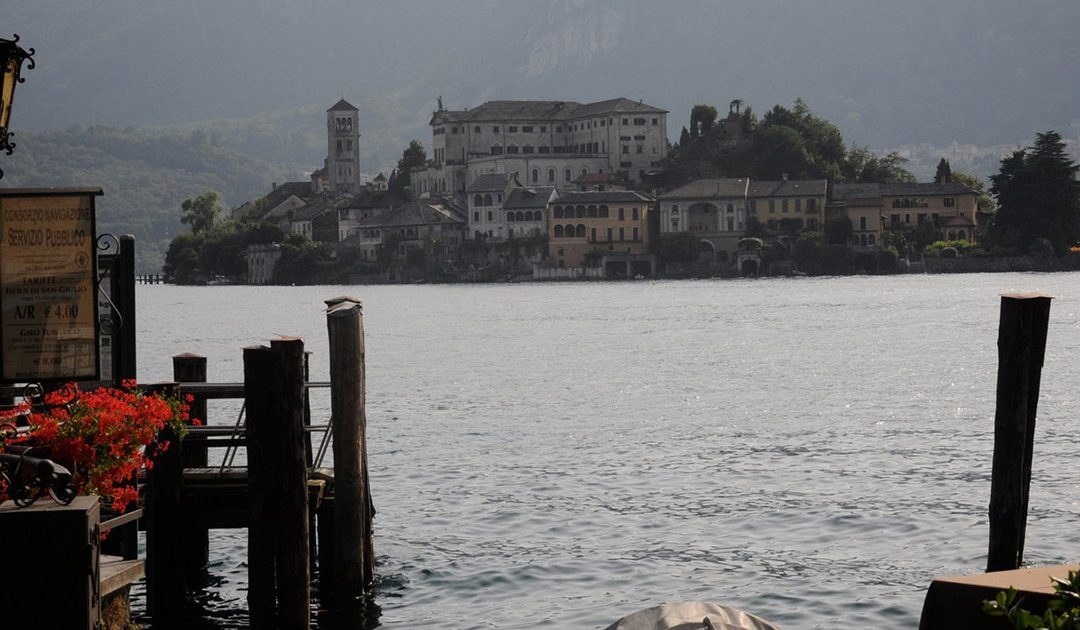 Lago d'Orta, het Ortameer bij Lago Maggiore
