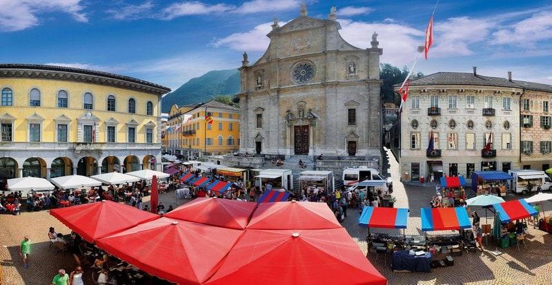 Een dagje shoppen in Bellinzona