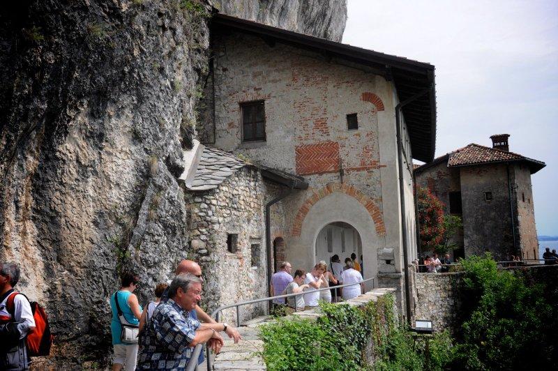 Santa Caterina del Sasso, een klooster met uitzicht